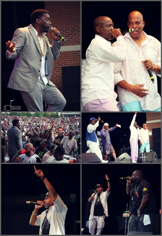 Wolf Creek Old School Hip Hop Festival collage