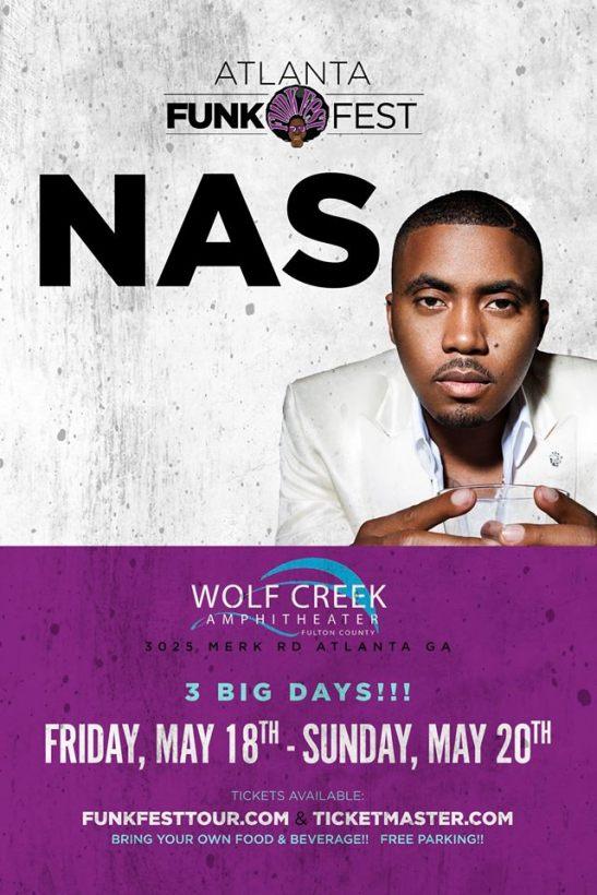 Funk Fest Atlanta Nas